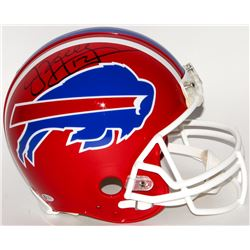 Jim Kelly Signed Bills Full-Size Authentic On-Field Helmet (Beckett COA)