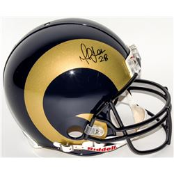 Marshall Faulk Signed Rams Full-Size Authentic On-Field Helmet (JSA Hologram)