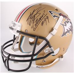 "Andrew Bryniarski Signed ""The Program"" ESU Timberwolves Full-Size Helmet Inscribed ""Lattimer"" (Becke"