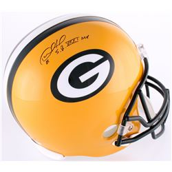 "Desmond Howard Signed Packers Full-Size Helmet Inscribed ""SB XXXI MVP"" (Schwartz COA)"