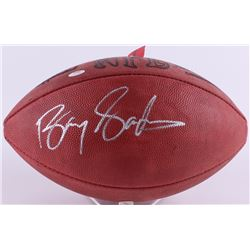 Barry Sanders Signed Official NFL Game Ball (Schwartz Hologram)