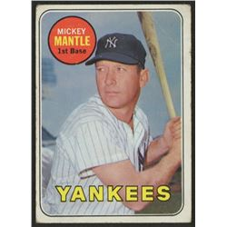 1969 Topps #500A Mickey Mantle