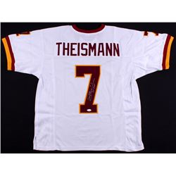 "Joe Theismann Signed Redskins Jersey Inscribed ""83 MVP"" (JSA COA)"