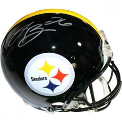 Le'Veon Bell Signed Steelers Full-Size Authentic On-Field Helmet (Steiner COA)