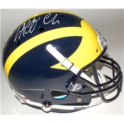 Taco Charlton Signed Michigan Wolverines Full-Size Helmet (Radtke COA)