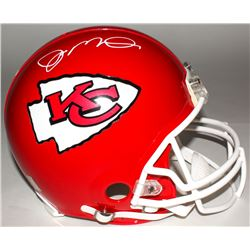 Joe Montana Signed Chiefs Authentic Full-Size Helmet (Montana Hologram)