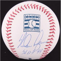 "Nolan Ryan Signed OML Hall Of Fame Logo Baseball Inscribed ""H.O.F. '99"" (Ryan Hologram  FSC COA)"