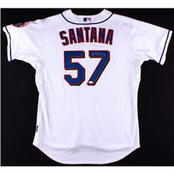 Johan Santana Signed Mets Authentic On-Field Jersey (JSA COA)