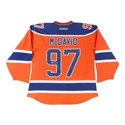Connor McDavid Signed Oilers Captain Jersey (UDA)