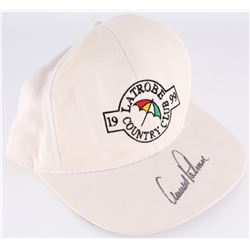 Arnold Palmer Signed Latrobe Country Club Adjustable Hat (JSA LOA)