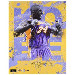 "Kobe Bryant Signed Lakers ""5 Rings"" 20x24 Limited Edition Photo (Panini COA)"