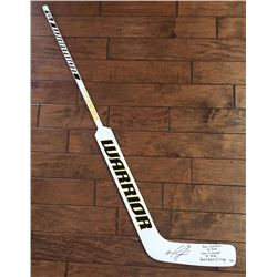 "Matt Murray Signed Full-Size Limited Edition Hockey Stick Inscribed ""Game 5 Shutout 24 Saves"", ""Game"