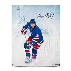 "Wayne Gretzky Signed ""King of New York"" 16x20 Limited Edition Photo (UDA)"