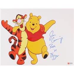 "Jim Cummings Signed ""Winnie The Pooh"" 11x14 Photo Inscribed ""Pooh 'N Tigger"" (PA COA)"
