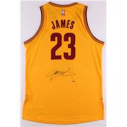 LeBron James Signed Cavaliers Adidas Authentic Game Jersey (UDA COA)