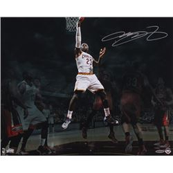LeBron James Signed Cavaliers 16x20 Photo (UDA COA)