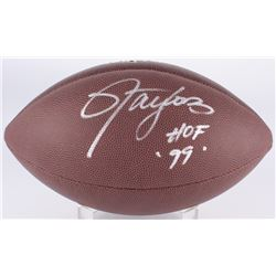 "Lawrence Taylor Signed Full-Size NFL Football Inscribed ""HOF '99"" (JSA COA)"