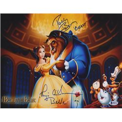"Paige O'Hara  Robby Benson Signed ""Beauty And The Beast"" 11x14 Photo Inscribed ""Belle""  ""Beast"" (Bec"