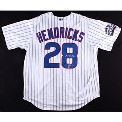"Kyle Hendricks Signed Cubs ""2016 World Series"" Jersey (Fanatics Hologram  MLB Hologram)"