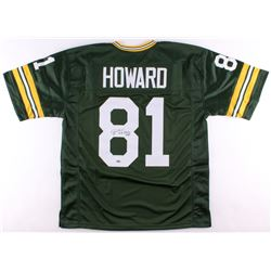 "Desmond Howard Signed Packers Jersey Inscribed ""S.B. XXXI MVP"" (Schwartz COA)"