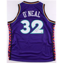 Shaquille O'Neal Signed 1995 All-Star Throwback Jersey (Schwartz COA)