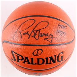 "Rick Barry Signed Basketball Inscribed ""HOF 1987"" (Schwartz COA)"