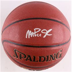Magic Johnson Signed Basketball (Schwartz COA)