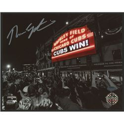 Theo Epstein Signed Cubs 8x10 Photo (Schwartz COA)