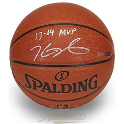 "Kevin Durant Signed Limited Edition Basketball Inscribed ""13-14 MVP"" (Panini COA)"