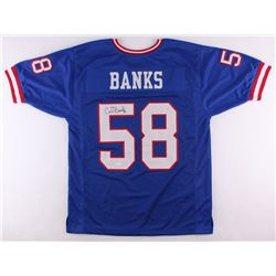 Carl Banks Signed Giants Jersey (JSA COA)
