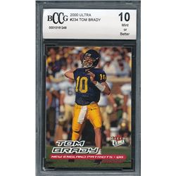 2000 Ultra #234 Tom Brady RC (BCCG 10)