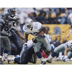 Emmitt Smith Signed Cowboys 16x20 Photo (Radtke COA)