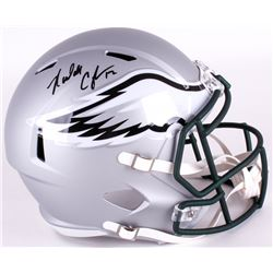 Randall Cunningham Signed Eagles Full-Size Blaze Speed Helmet (JSA COA)
