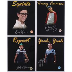 "Lot of (4) ""The Sandlot"" 8x10 Photos Signed by (4) With Victor DiMattia, Shane Obedzinski, Marty Yor"