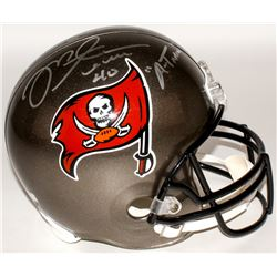 "Mike Alstott Signed Buccaneers Full-Sized Helmet Inscribed ""'A-Train'"" (Radtke COA)"
