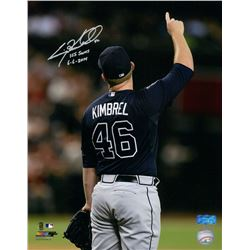"Craig Kimbrel Signed Braves 11x14 Photo Inscribed ""155 Saves""  ""6-6-2014"" (Radtke COA)"