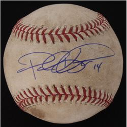 Paul Konerko Signed Indians Vs. White Sox Game-Used OML Baseball (Schwartz COA  MLB Authentication H