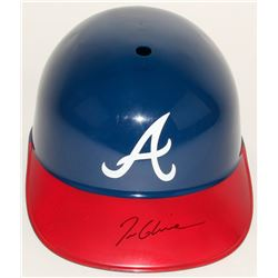 Tom Glavine Signed Braves Full Size Batting Helmet (JSA COA)