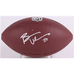 Brian Urlacher Signed NFL Football (Schwartz COA)