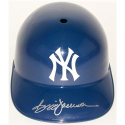 Reggie Jackson Signed Yankees Full-Size Batting Helmet (JSA COA)