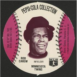 1977 Pepsi Glove Discs #2 Rod Carew