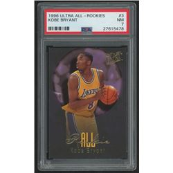 1996-97 Ultra All-Rookies #3 Kobe Bryant (PSA 7)