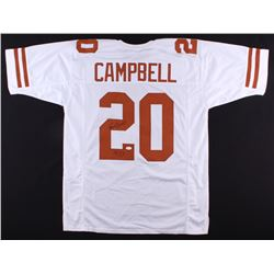 "Earl Campbell Signed Texas Longhorns Jersey Inscribed ""HT 77"" (JSA Hologram)"