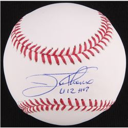 "Jim Thome Signed OML Baseball Inscribed ""612 HR"" (Beckett COA)"