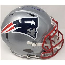 Julian Edelman Signed Patriots Full-Size Authentic On-Field Speed Helmet (Steiner COA)