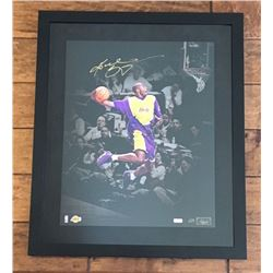 "Kobe Bryant Signed Lakers ""1997 Dunk"" 20x24 Limited Edition Custom Framed Photo (Panini COA)"