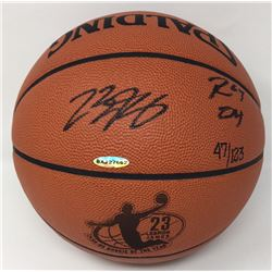 "LeBron James Signed Limited Edition Rookie of the Year Basketball Inscribed ""ROY 04"" (UDA COA)"
