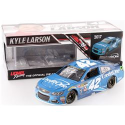 Kyle Larson Signed NASCAR #42 Credit One 2017 SS 1:24 Limited Edition Premium Action Die Cast Car (P