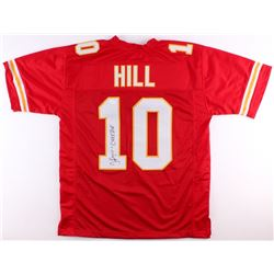 "Tyreek Hill Signed Chiefs Jersey Inscribed ""Cheetah"" (TSE COA)"