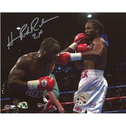 "Hasim Rahman Signed 8x10 Photo Inscribed ""2x"" (MAB Hologram)"